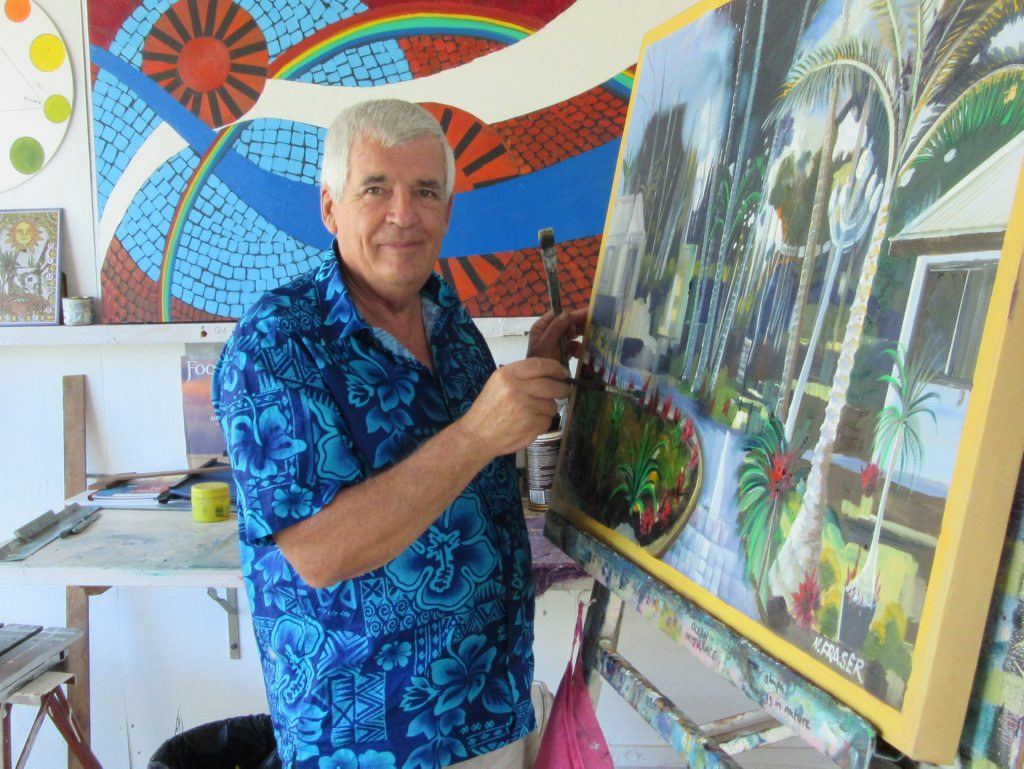 Norm Fraser's upcoming Oil Painting Workshop has many Creative Gladstone members excited.