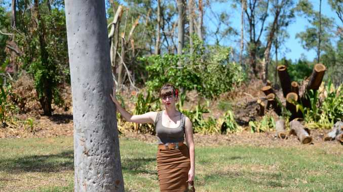CQUniversity research fellow Dr Kirrily Thompson, a cultural anthropologist who is visiting Rockhampton to speak at a Community Recovery and Resilience Forum for those affected by Cyclone Marcia Photo Lisa Benoit / The Morning Bulletin