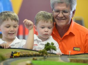 Trains track their way through family history