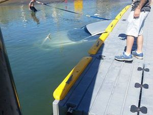 Driver left with a sinking feeling at boat ramp