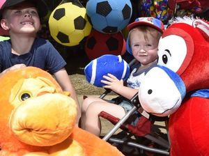A glimpse of the Toowoomba Show