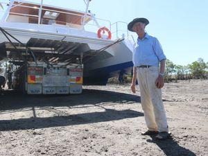 76-year-old builds catamaran
