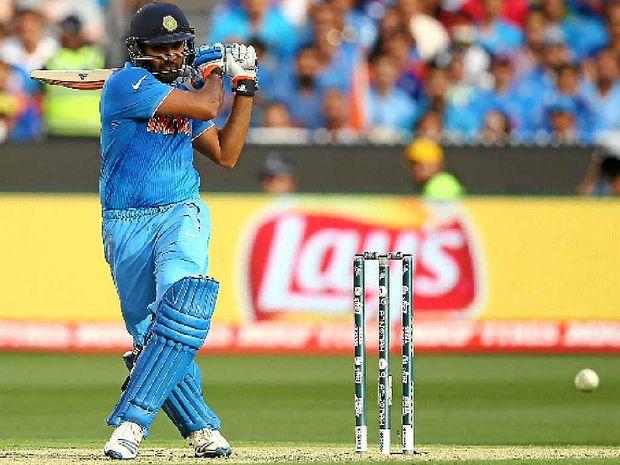 BIG BASH: Rohit Sharma on his way to a hundred against Bangladesh.
