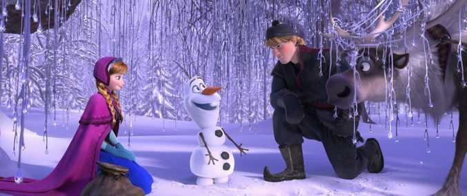 Frozen will show this weekend at Movies in the Park.