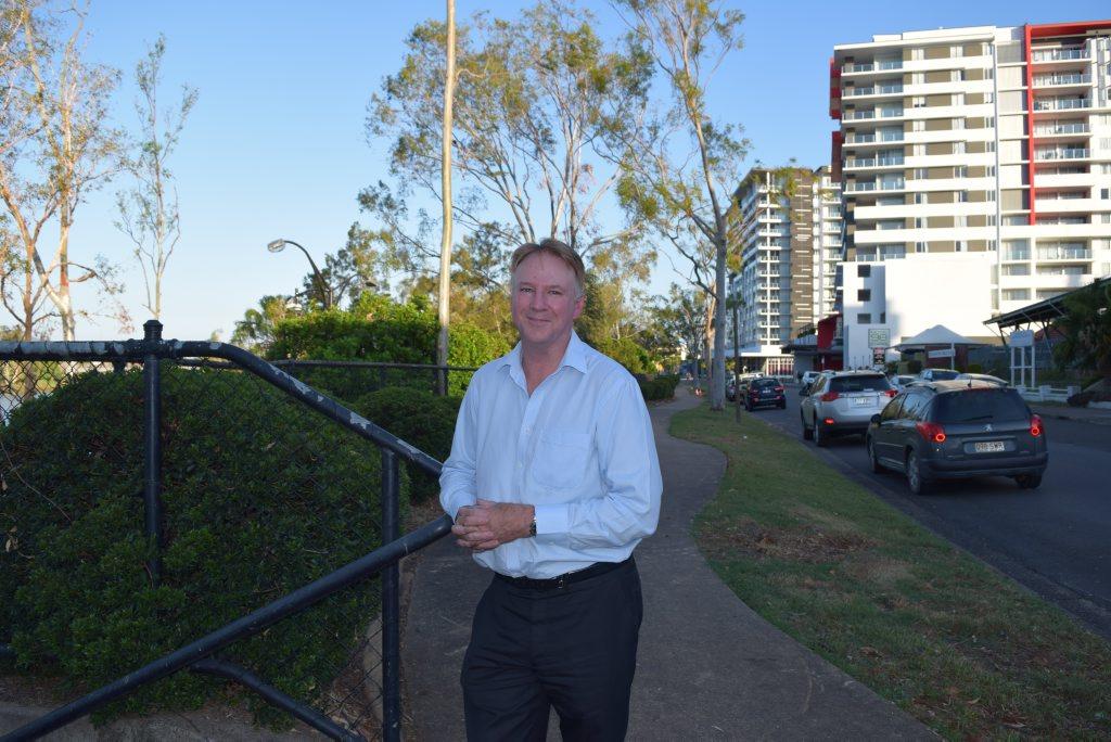 Bank of Queensland's chief economist Peter Munckton visits Rockhampton Photo Michelle Gately / Morning Bulletin