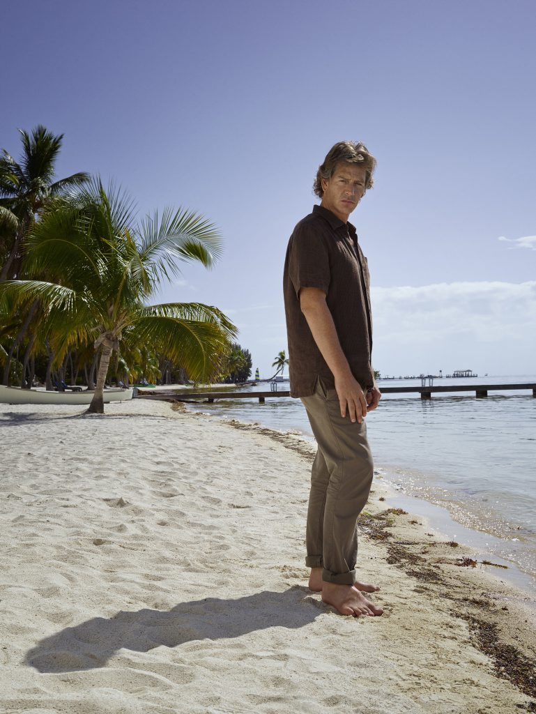 Ben Mendelsohn in a scene from the TV series Bloodline. Supplied by Netflix Australia.