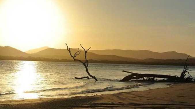 Joanne Ufer: Sunset over Coorooman Creek