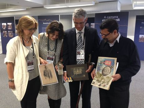 Sarah, Louise and James Nettleton meet up with visiting Turkish professor Haluk Oral, who has possession of their great-uncle Burdett's flask. Burdett Nettleton died on Augut 7, 1915, at Pope's Hill.