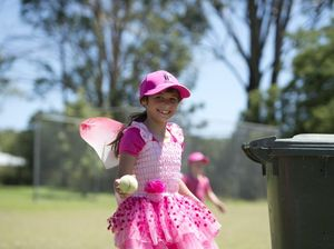 Buliyan students excited over pink pitch