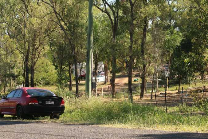 A two-year-old boy has drowned in a dam at a Blokland Ct property in Hatton Vale.