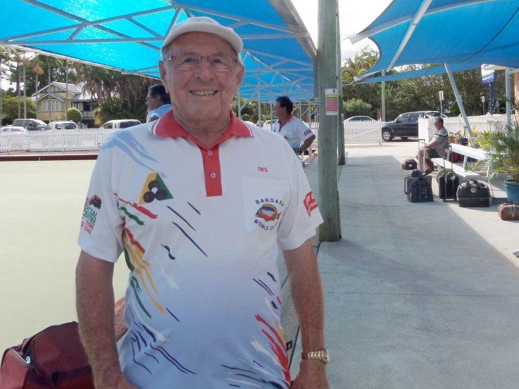 Bargara bowlers have remembered fellow bowler Des Nicholson.
