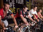 Bike riders fly along in charity ride