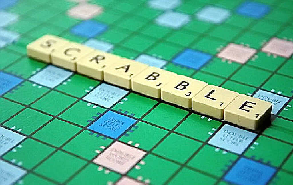 You'll never be bored with Scrabble.