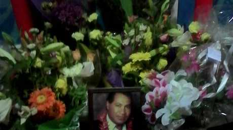A tribute for the man who died after an altercation at Logan Central Plaza. Source: Facebook
