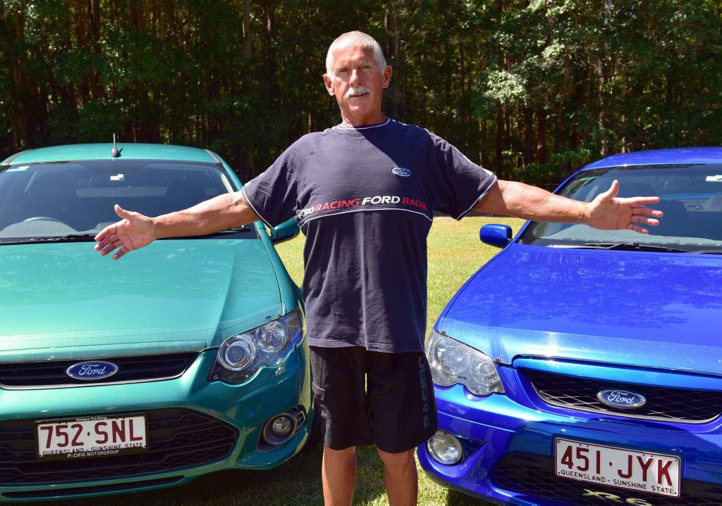 Peter Goesch is happy to show off his weight loss success after losing 74kg in under 12 months.