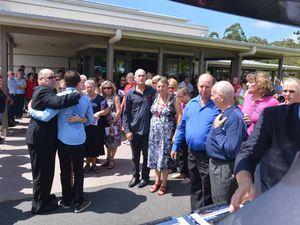 Family, friends farewell Pomona mum taken by meningococcal