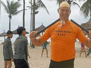 David's out to help save lives in Asian surf