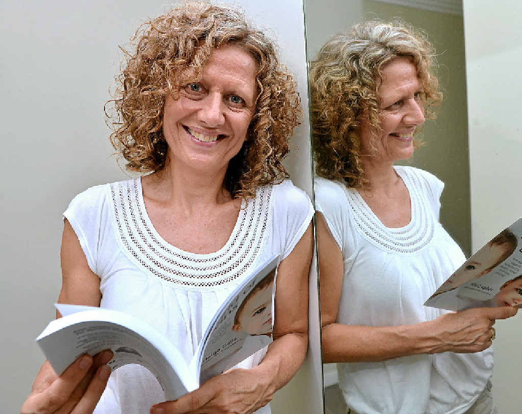 HAPPY TO HELP: Helga Dalla has begun a project to help twins all over the world.