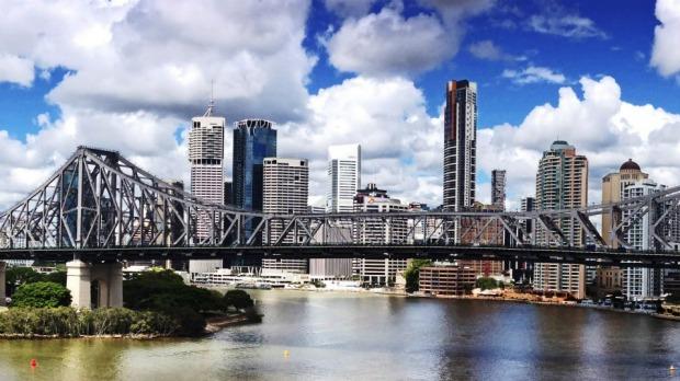 Brisbane River.