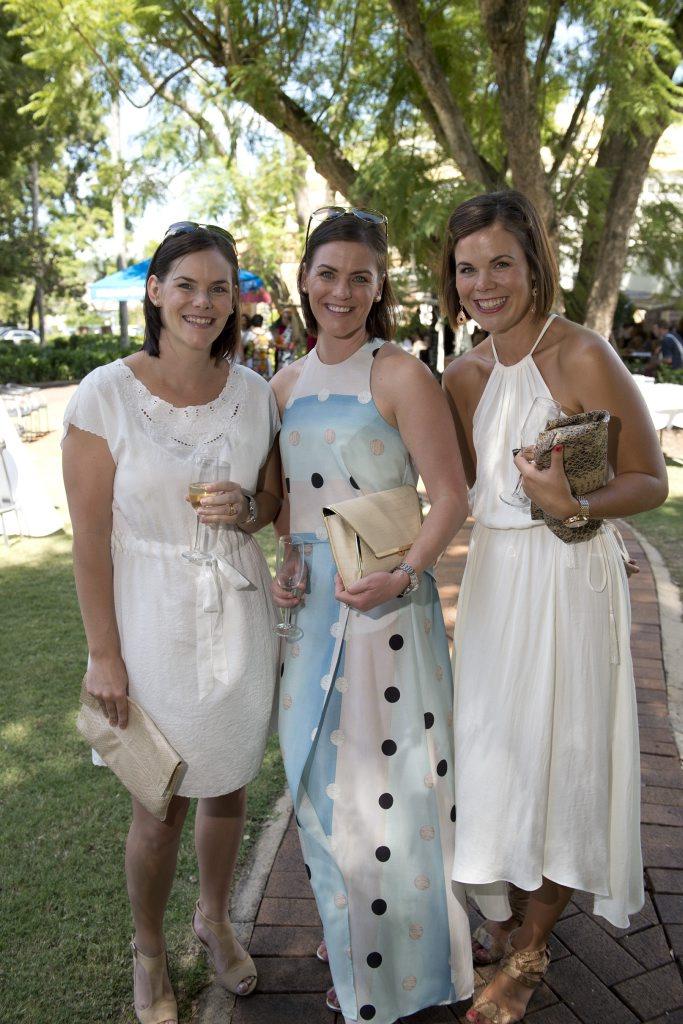 Kate Tronc, Jen Taylor and Marita Ramia.
