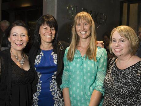 Sara Osborne, Julie Peters, Wendy Baills and Fiona Creighton.
