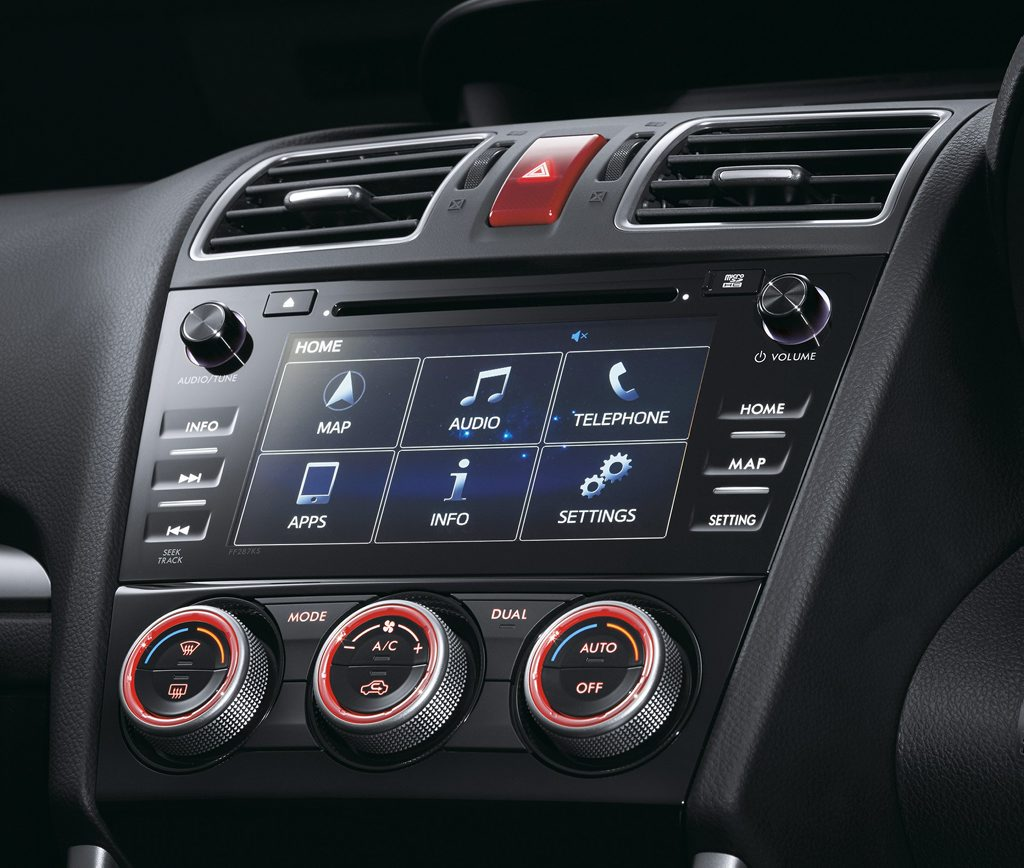 New infotainment system