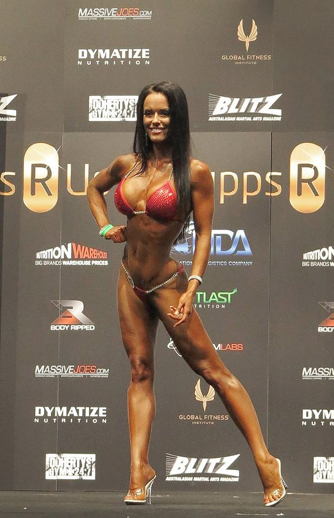 SUCCESS: Jade McKee has tasted success in the first Arnold Classic Australia contest by winning the Overall Bikini title. Photo: Ignazio Ťśè
