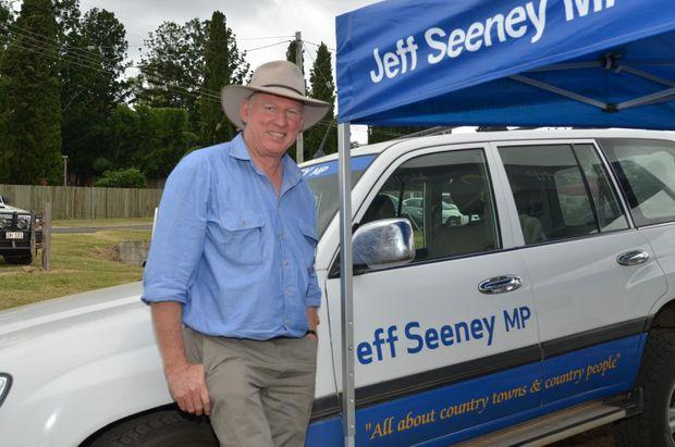 Callide MP Jeff Seeney. Photo Barclay White / South Burnett Times