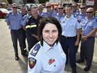 Toowoomba fire communications officer Leigh Frame, Mrs Frame was recognised for her work on the night when a large explosion occurred near Charleville. Photo Bev Lacey / The Chronicle