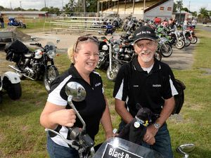 Bikers throw support behind depression with Black Dog Ride