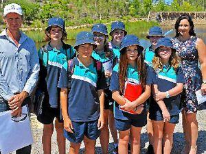 Riverstone's floating wetlands an Aussie first
