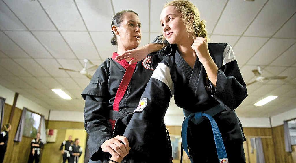 REWARDING JOB: Leisa Pender has opened her own Zen Do Kai classes in Tannum Sands.