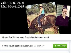 Coast equestrian group pays tribute to Pacific Haven mum