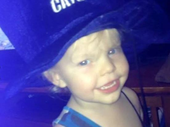 HAPPY SPIRIT: Two-year-old Caiden died after he was found in a dam at Hatton Vale after going missing last week.