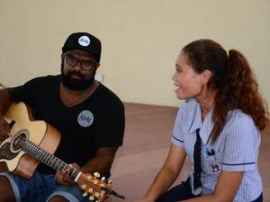 Mentors helping Rockhampton aspiring musos to shine
