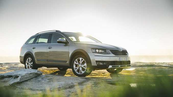 The 2015 Skoda Octavia Scout.