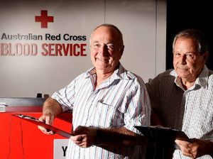 Donor gives blood for 301st time