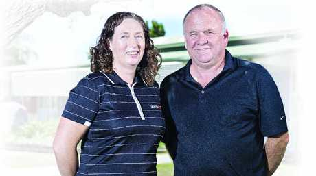 Jodi Pallett and Daryll Richardson will be participating in Anzac Day commemorations at Gallipoli this year.