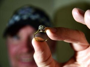Mysterious diamond ring mailed to police