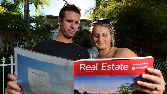 BIG DREAMS: Sam Heisner and Ellie Meuwissen are looking to buy their first home together, and hope a government grant is extended to existing homes as well as new builds.