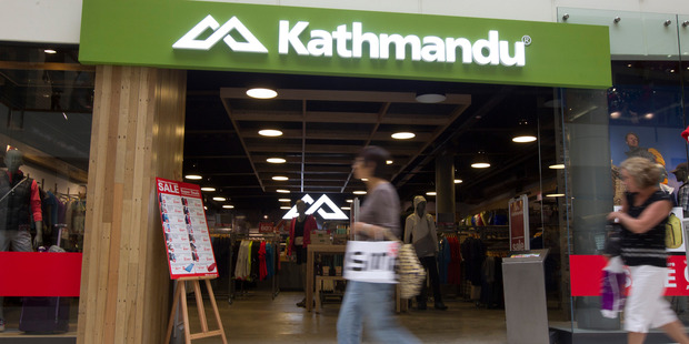 Kathmandu's Christmas and January sales were lower than expected
