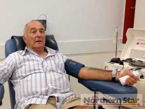 Long term blood donors reach milestones