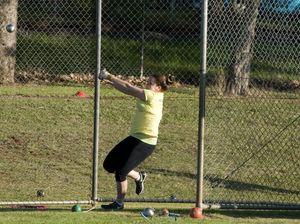 Toowoomba throwers eye hammer gold double