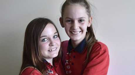 Lara Skinner (right) saved the life of her best friend Kathy Coolican-Layton.