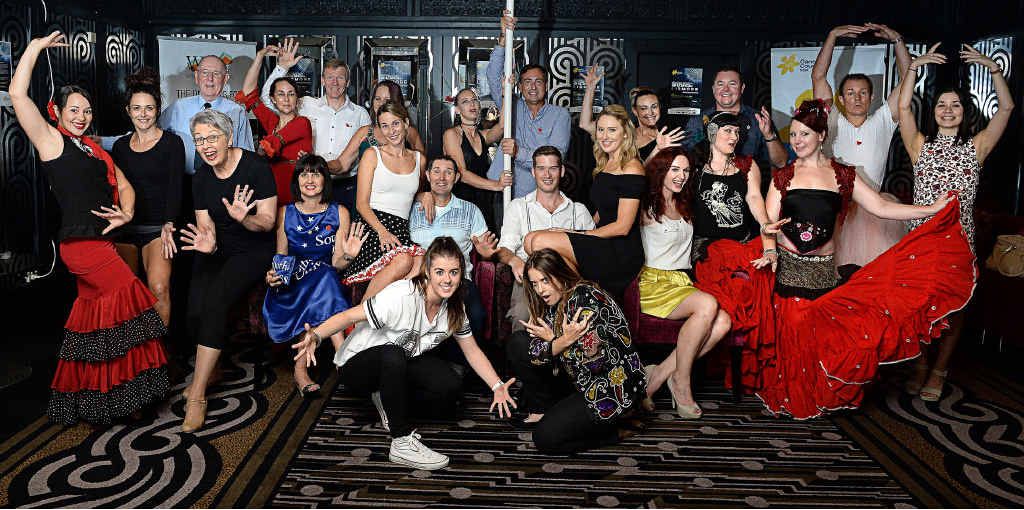 STRIKE A POSE: The launch of the Stars of Lismore Dance for Cancer. Tickets for the charity event are going on sale today.
