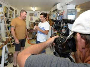 Television crew falls in love with Yeppoon