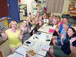 Big surprise for Calliope Kindy mums