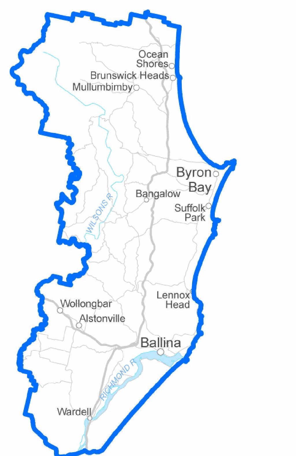 The electorate of Ballina