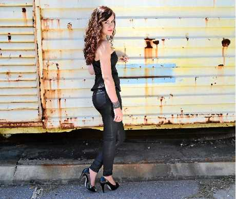 SEEING THE LIGHT: Gladstone girl Hayley Marsten will bring her country sound to the Rocky Glen Hotel on April 11.