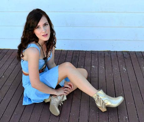 GOOD TIME: Gladstone girl Hayley Marsten says it's going to be a really big party at the Rocky Glen Hotel on April 11.